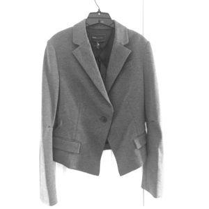NWT BCBGMaxAzria gray blazer
